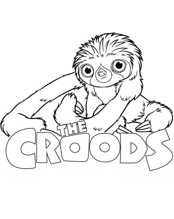 The Croods Movie Poster Coloring Page The Croods Movie Poster