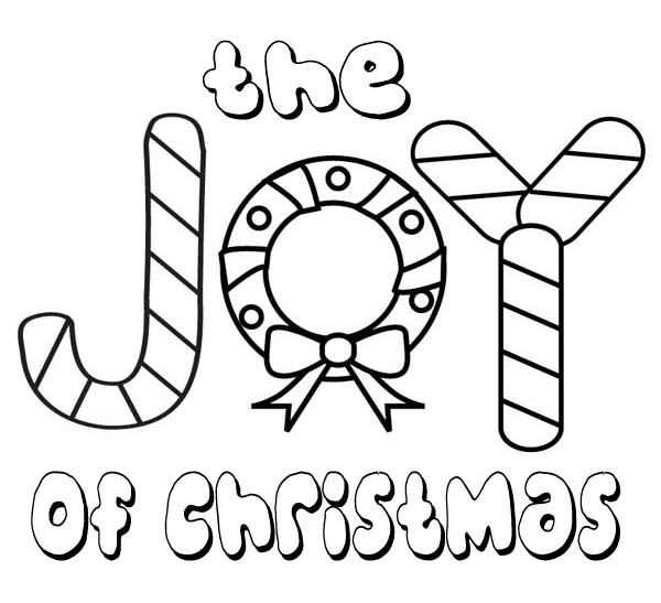 Christmas, : The Joy of Christmas for Everyone Coloring Page