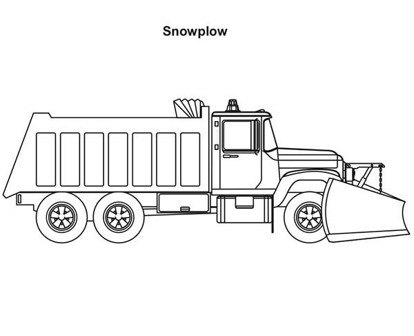 Trucks, : 2-axle-snow-plow-coloring-page.jpg