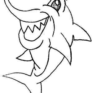 A Drawing Of Blacktip Reef Shark Coloring Page` : Kids ...