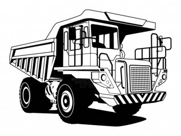 Trucks, : super-dump-truck-capable-of-carrying-great-loads-coloring-page.jpg