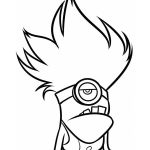 minions coloring pages of phil - photo#22