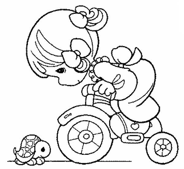 Precious Moments, : Want to Ride with Me Precious Moments Coloring Page