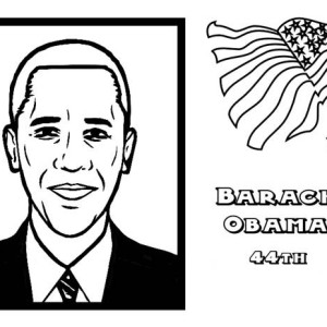 all 44 presidents coloring pages - photo#38