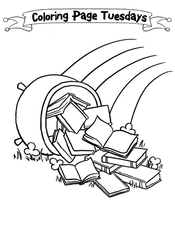 Treasure Map, : Making of Treasure Map Coloring Page
