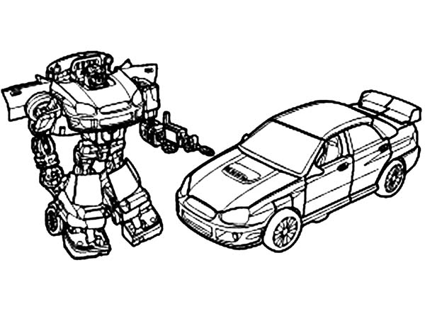 Transformers, : The Autobots Transformers Coloring Page