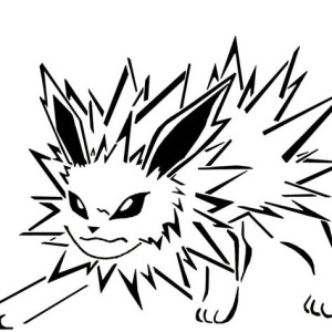 Flareon And Vaporeon And Jolteon Coloring Page Kids Play
