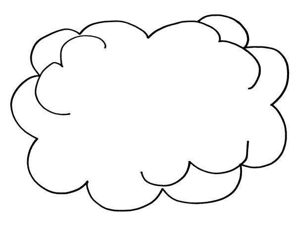 cumulus cloud coloring pages - photo#29