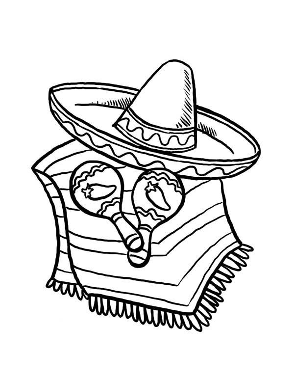 Sombrero And Caracas For Cinco De Mayo At At Mexican ...