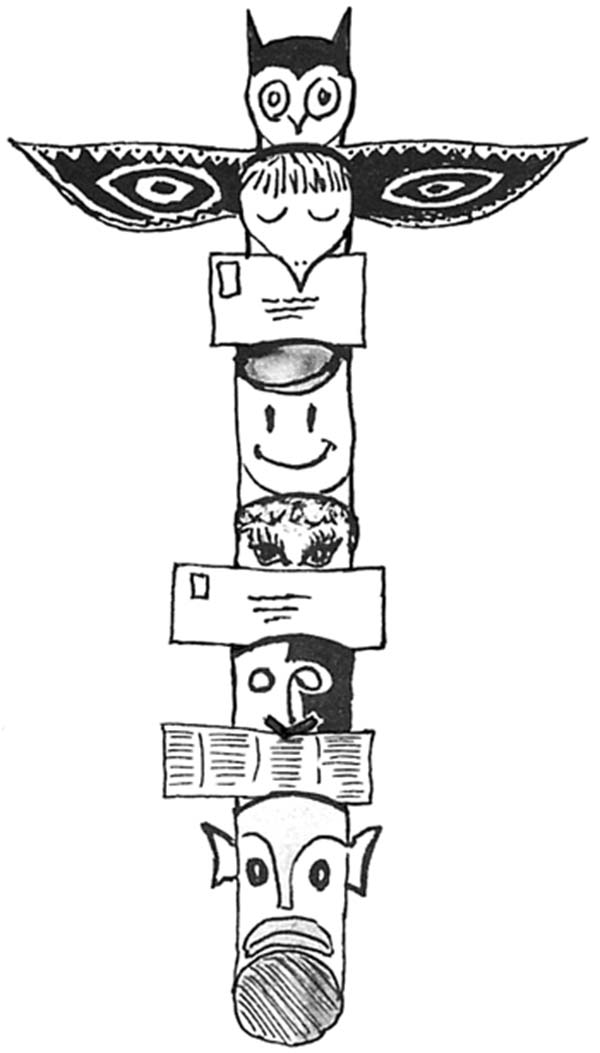 Picture Of Totem Poles Coloring Page : Kids Play Color
