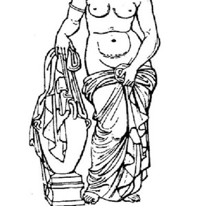 greek mythology coloring pages aphrodite granite | Beautiful Hair Of Aphrodite Coloring Page : Kids Play Color