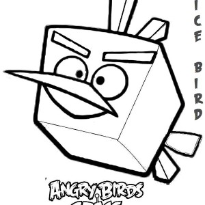 Aninimal Book: Pigs Steal Birds Eggs In Angry Bird Coloring Page : Kids ...