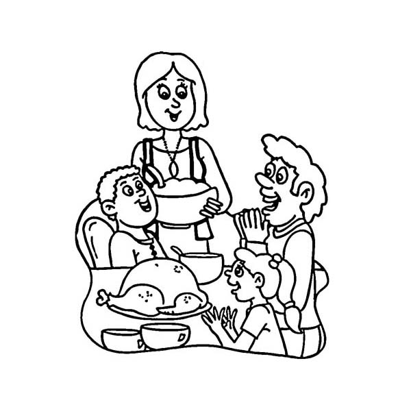 Canada Thanksgiving Day, : Canada Thanksgiving Day Around the World Coloring Page