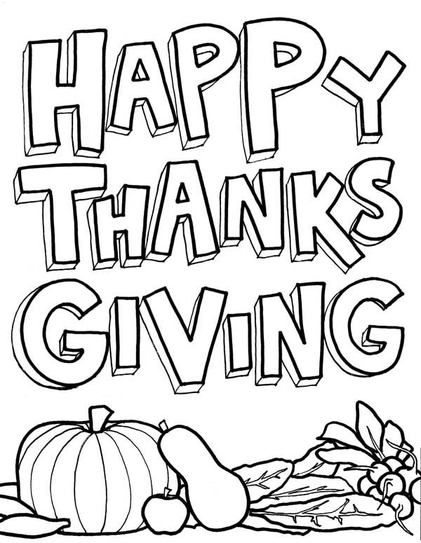 Canada Thanksgiving Day, : Joyful Canada Thanksgiving Day for All Coloring Page