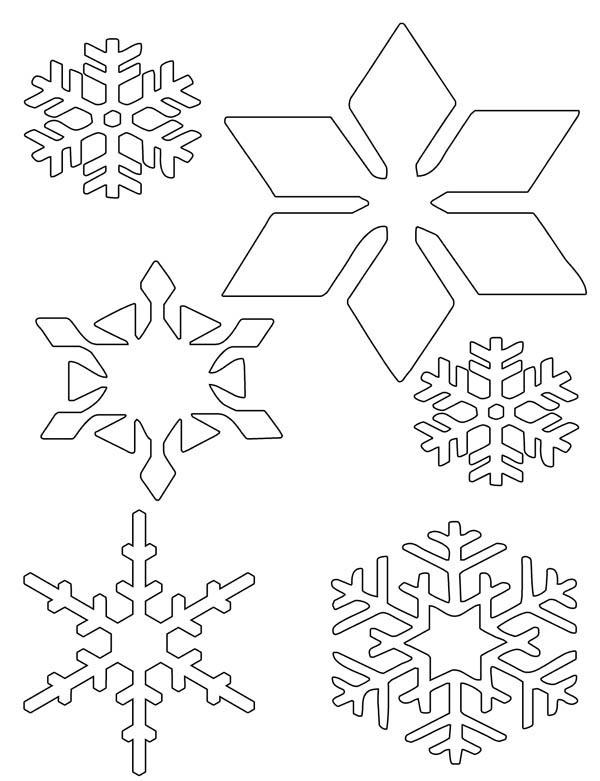 Christmas, : Christmas Snowflakes Wonder Coloring Page