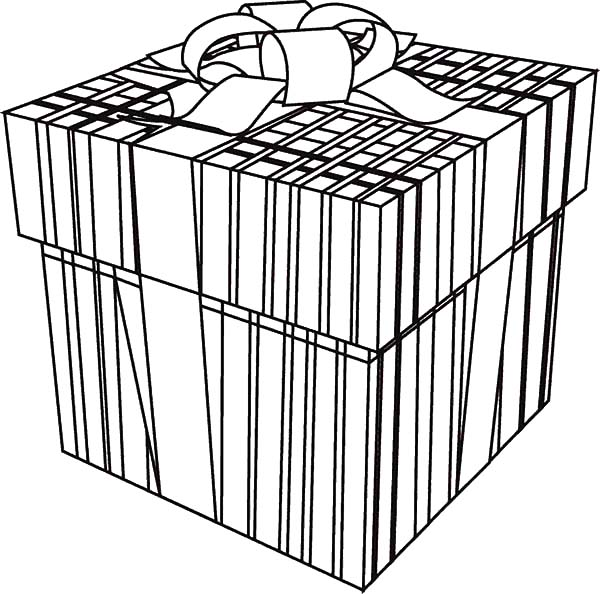 Christmas Presents, : Christmas Presents Picture Coloring Pages