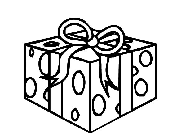 Christmas Presents, : Christmas Presents Surprise Coloring Pages