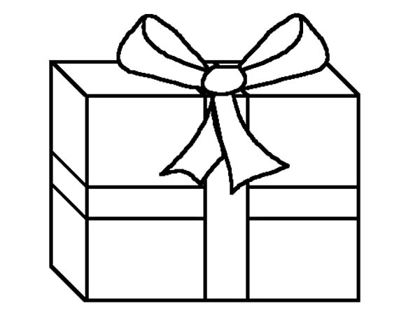 Christmas Presents, : Secret Santa Christmas Presents Coloring Pages
