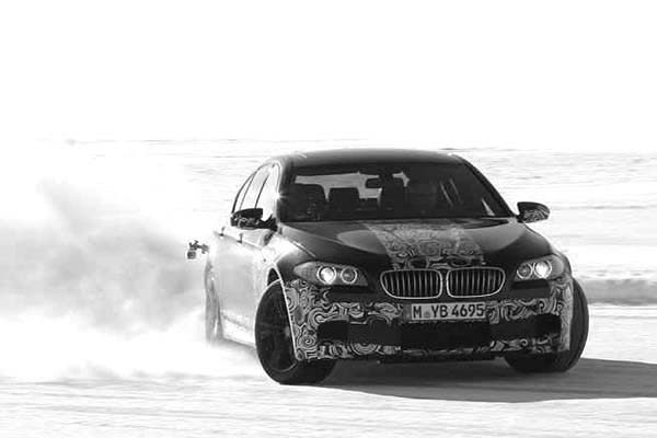 BMW M5 Drifting Cars Coloring Pages