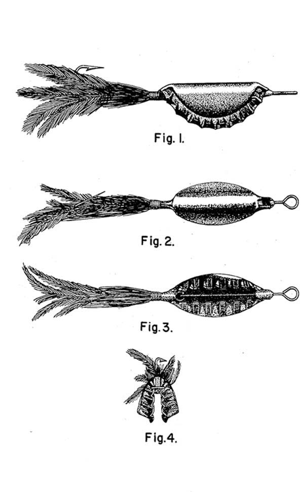 Fishing Lures, : Bright Color Fishing Lures Coloring Pages