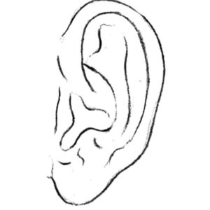 My Ear Can Hear You Coloring Pages Kids Play Color