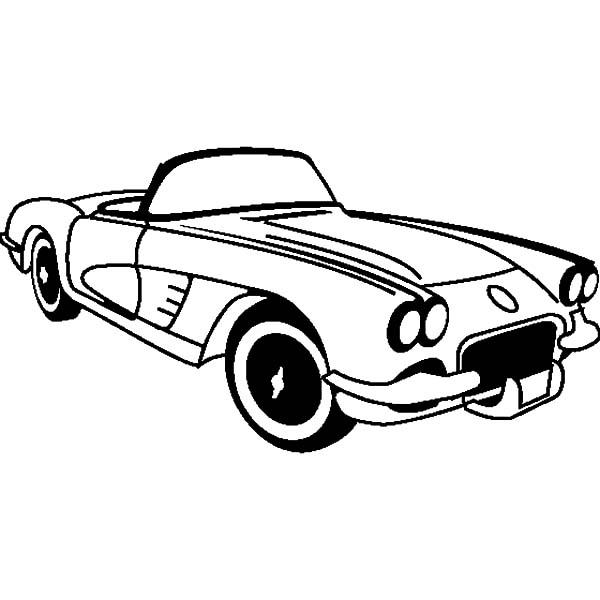 1982 Corvette White