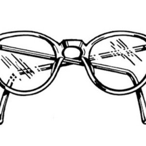 Eyeglasses Coloring Pages Kids