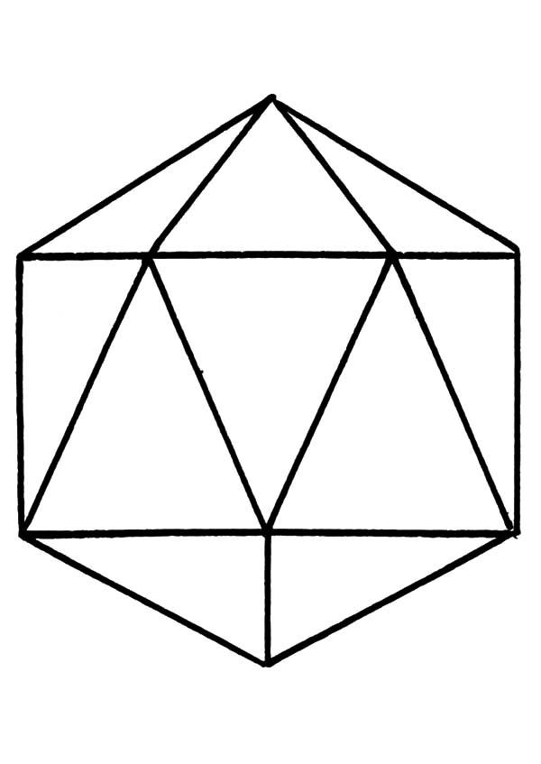 Diamond Shape, : Diamond Shape Picture Coloring Pages