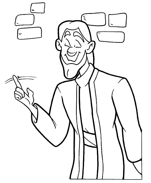 Doubting Thomas, : Doubting Thomas Do Not Believe Coloring Pages