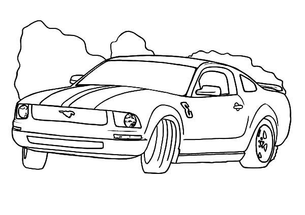 Drifting Cars, : Drifting Cars Coloring Pages for Kids