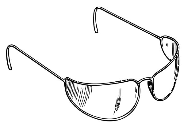 Eyeglasses, : Eyeglasses Collection Coloring Pages