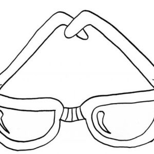Expensive Eyeglasses Coloring Pages