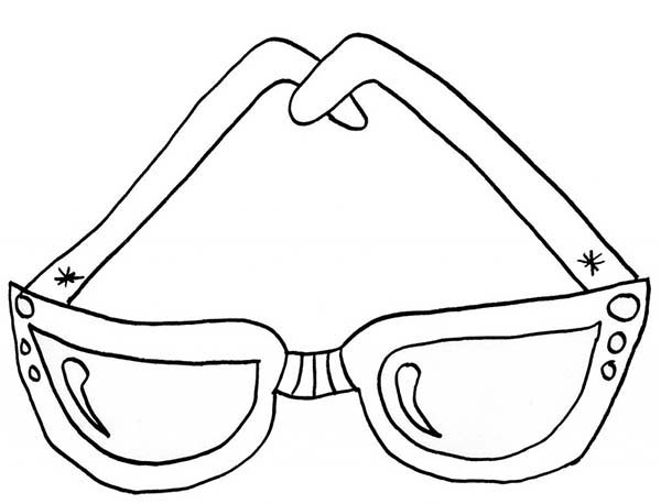 Eyeglasses, : Eyeglasses for Kids Coloring Pages