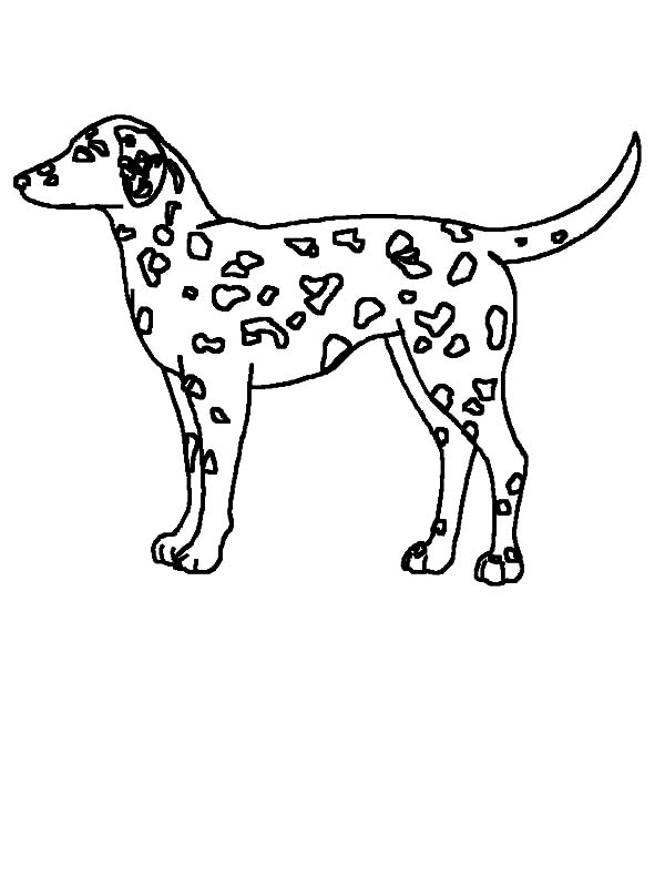 Fire Dog, : Fire Dog Coloring Pages for Kids
