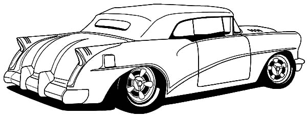 Hot Rod Cars Coloring Pages For Kids Kids Play Color
