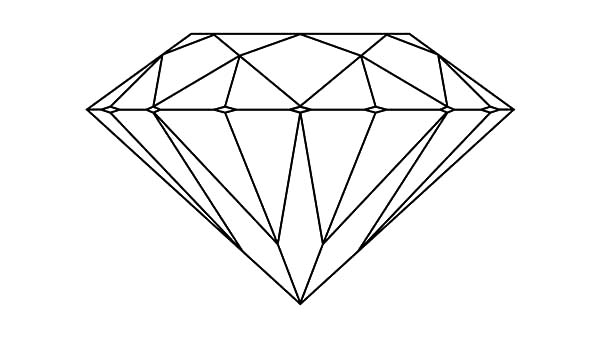 Diamond Shape, : How to Draw Diamond Shape Coloring Pages