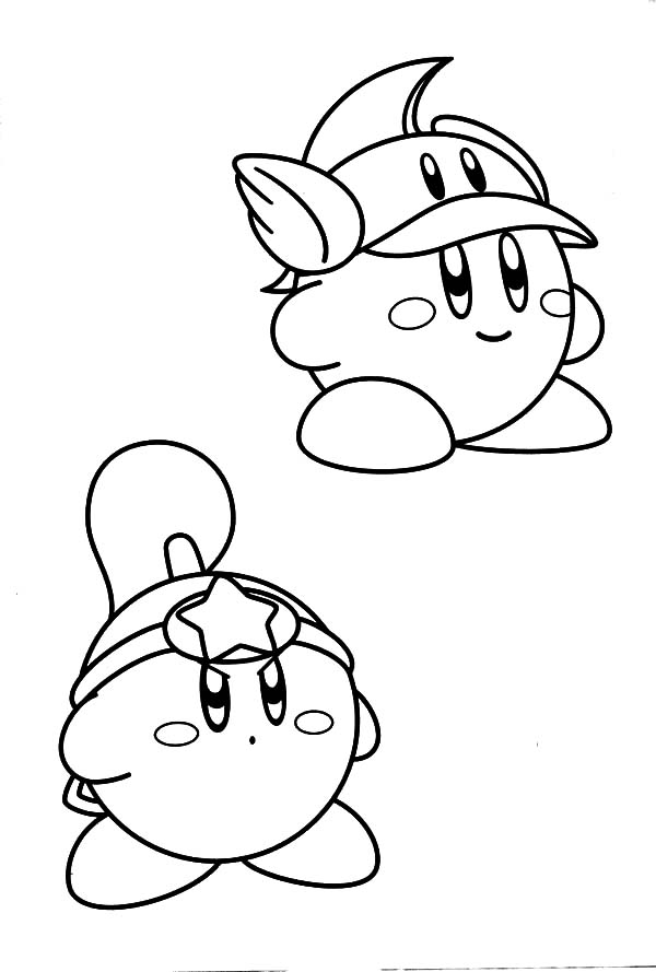 Kirby, : How to Draw Kirby Coloring Pages