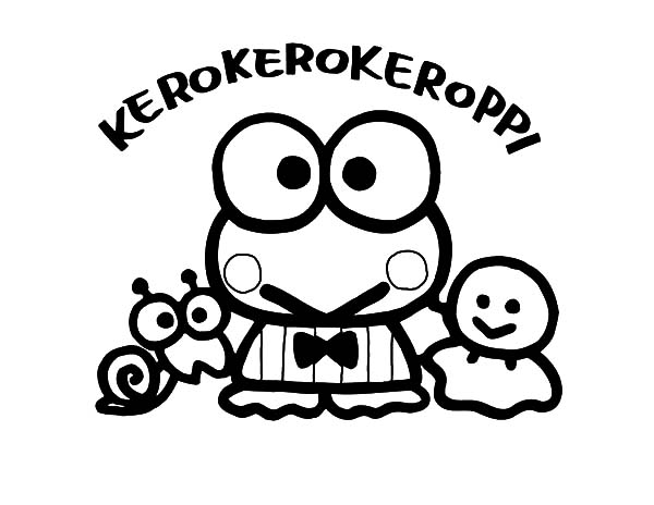 kerokeropi coloring pages | Kero Kero Keroppi Coloring Pages : Kids Play Color