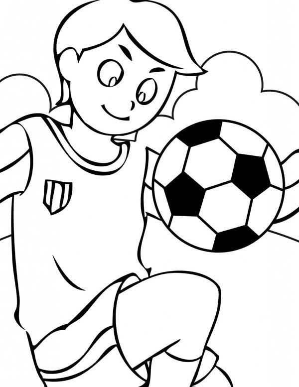 Exercise, : Kid Juggling Ball Exercise Coloring Pages