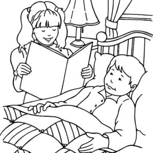 Download Jesus Heals The Sick Coloring Page