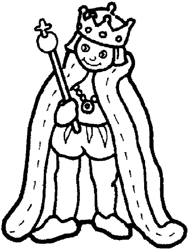 King, : King Coloring Pages for Kids