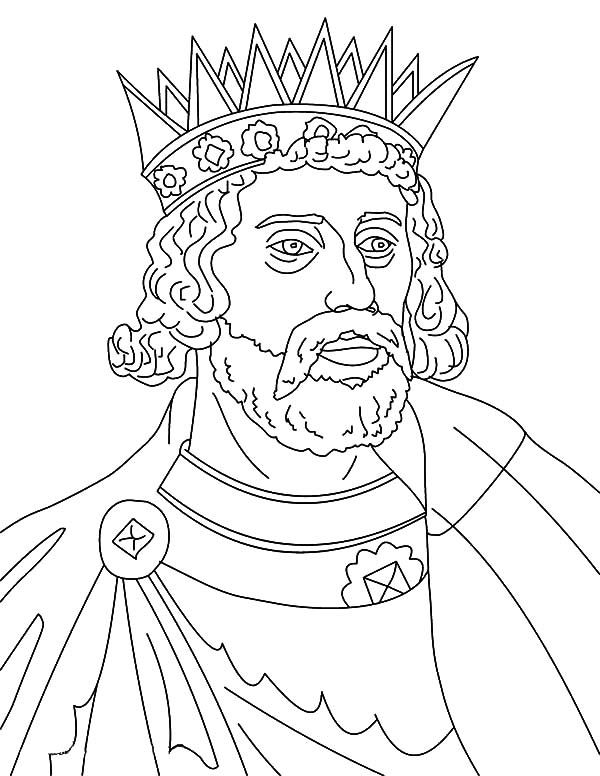 King, : King Henry III Coloring Pages