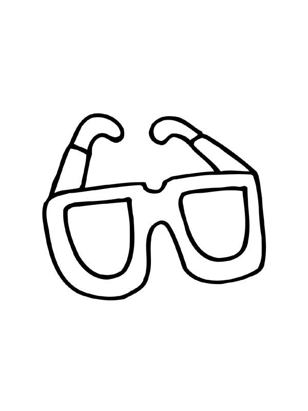 Eyeglasses, : LMFAO Eyeglasses Coloring Pages