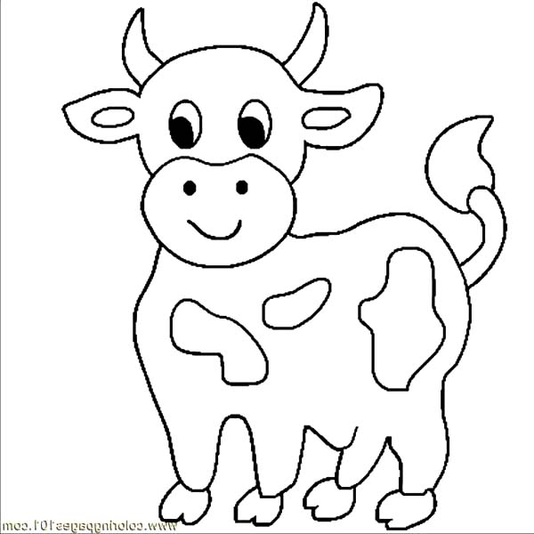 Little Cows Coloring Pages Kids Play Color