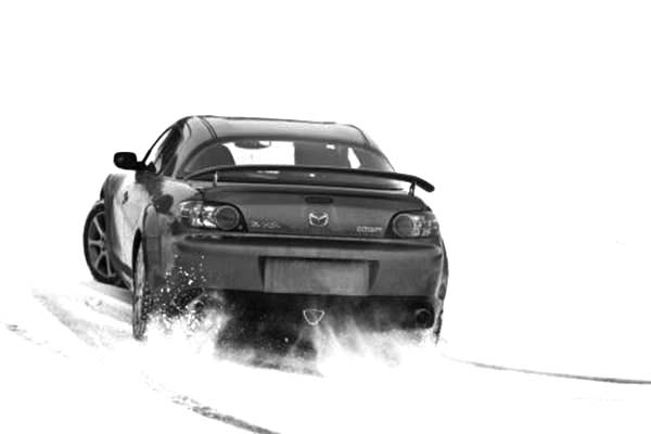 Drifting Cars, : Mazda RX 8 Drifting Cars Coloring Pages
