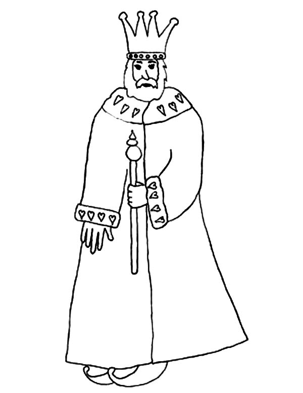 King, : People King Coloring Pages