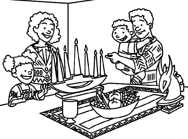 Kinara, : Place Kinara in Living Room Coloring Pages