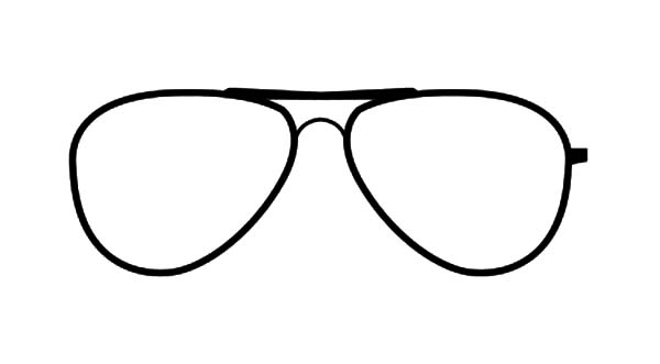 Eyeglasses, : Super Cool Eyeglasses Coloring Pages