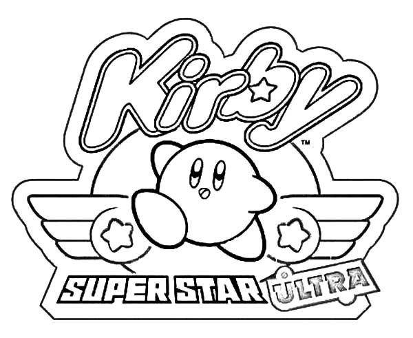 Kirby, : Super Star Ultra Kirby Coloring Pages